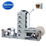 DEPAI CHINA FACTORY PRICE FPL850-5 WATER INK UV PAPER CUP FLEXO PRINTING